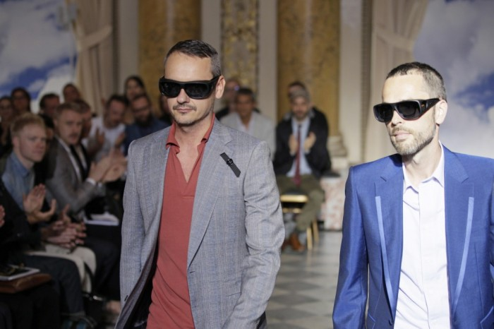 Viktor & Rolf Hommes Printemps-Eté 2012