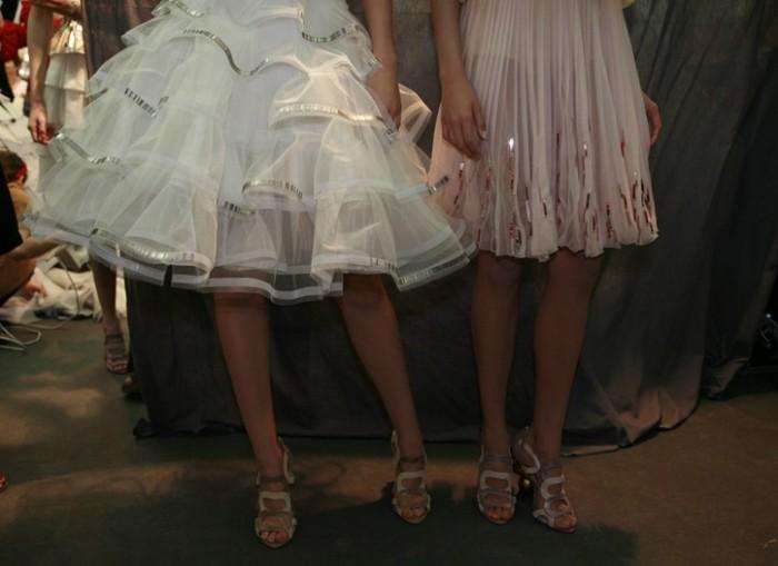 Backstage Dior Haute Couture Automne Hiver 2011-2012