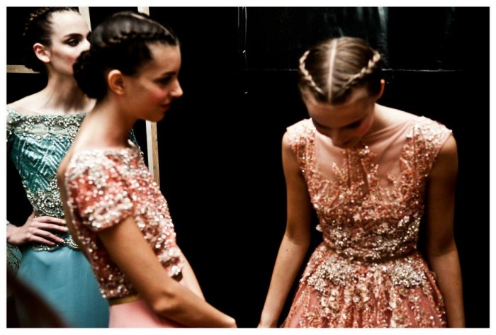 Behind the scenes Elie Saab Haute-couture Automne Hiver 2012-2013