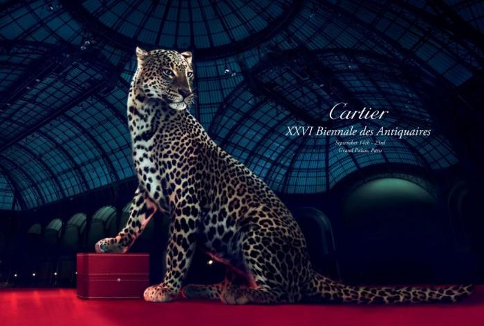 Cartier illumine la Biennale des Antiquaires