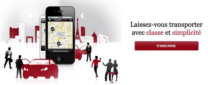 Offrez-vous un chauffeur à Paris avec l'application chic et pratique Chauffeurs Privés