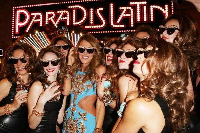 Anna Dello Russo at H&M Collection Paradise Ball