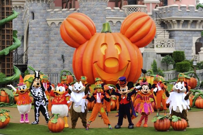 Festival Halloween Disney 2012