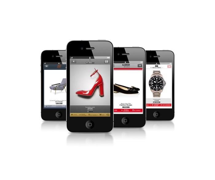 Vogue, GQ, Glamour et AD lancent leurs applications cadeaux sur iPhone