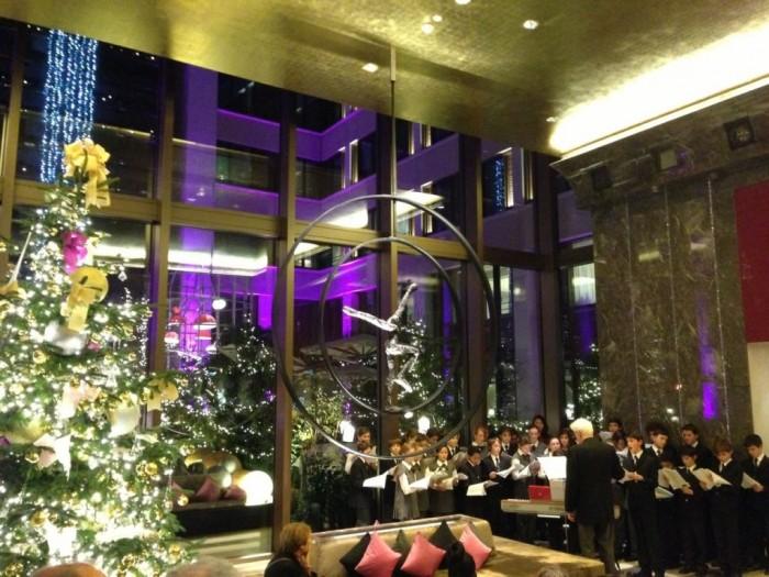 Un réveillon de Noël de rêve au Mandarin Oriental Paris