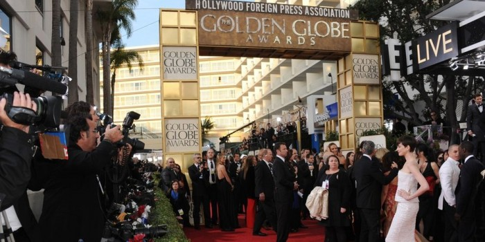 Elégance aux Golden Globes 2013