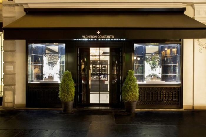 La boutique parisienne de Vacheron Constantin