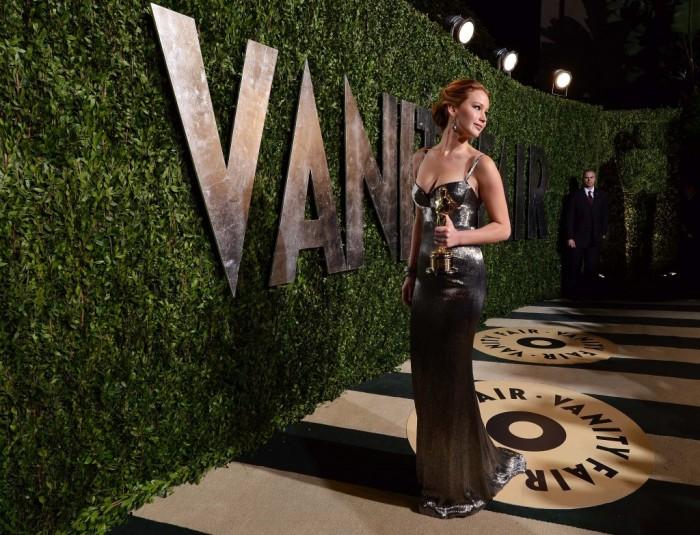 Glamour sur tapis rouge aux Oscars 2013