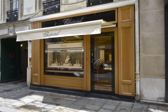 Chopard réinvente sa boutique du Faubourg Saint-Honoré