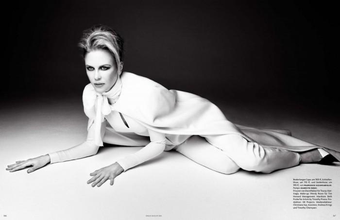 Troublante Nicole Kidman pour Vogue Germany