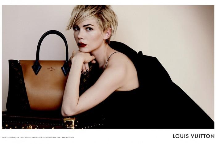 Michelle Williams, la nouvelle égérie Louis Vuitton