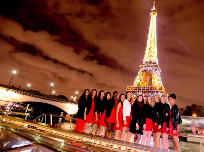 Une journée inoubliable pour les 12 finalistes Elite Model Look France