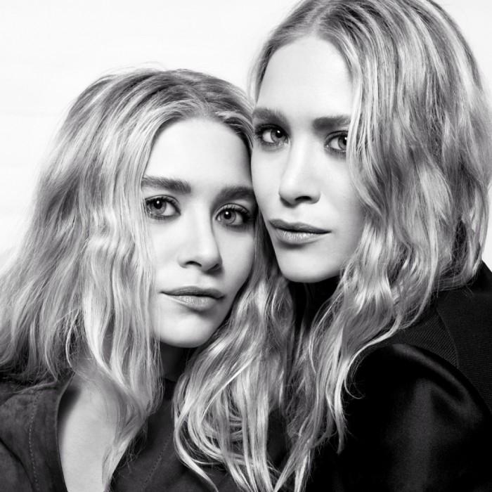 Mary-Kate & Ashley Olsen en couverture de The Edit