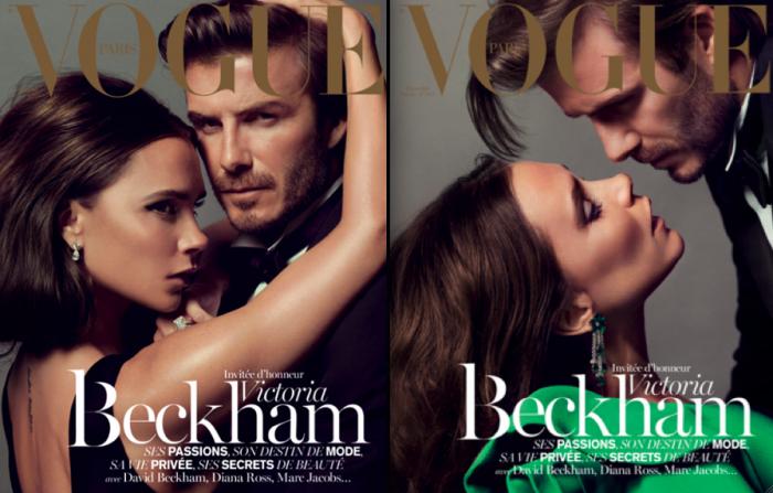 Victoria Beckham, invitée du Vogue Paris