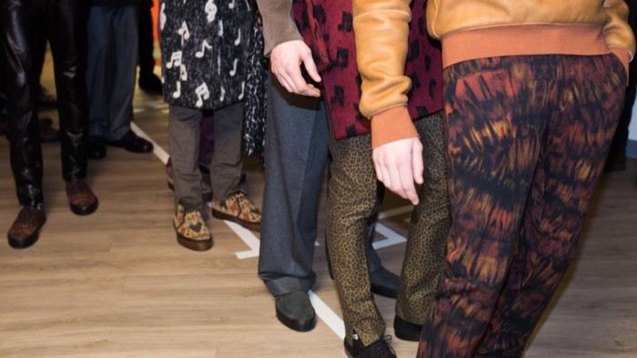 Behind the scenes Paul Smith Men AW2014