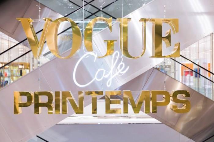 Le Café Vogue s'installe au Printemps Haussmann
