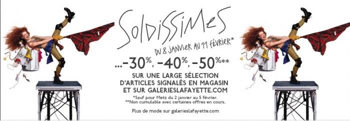 Les soldes d'hiver débarquent aux Galeries Lafayette