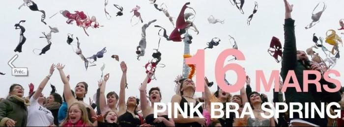 Pink Bra Bazaar se mobilise le 16 mars