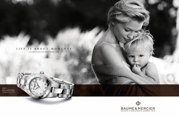Baume & Mercier, une campagne autour de la célébration