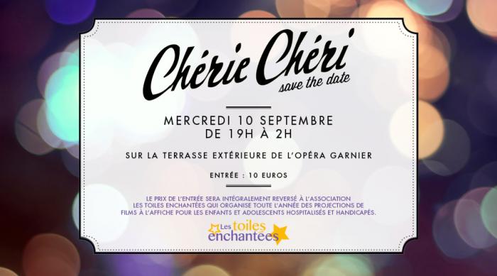 Les Toiles Enchantées x Chéri Chéri à l'Opéra Garnier