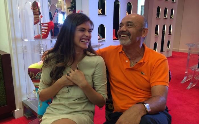 Un week-end de luxe avec Elisa Sednaoui et Christian Louboutin