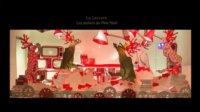 Le Noël Rive Gauche du Bon Marché