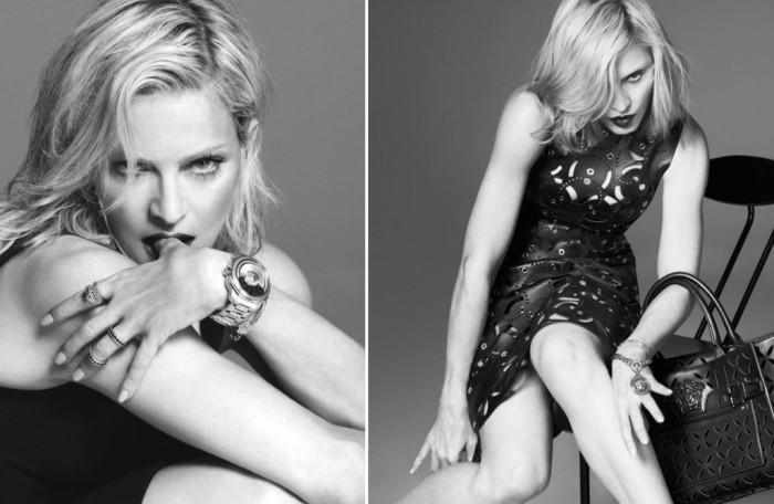 Madonna, la nouvelle égérie de la campagne Versace