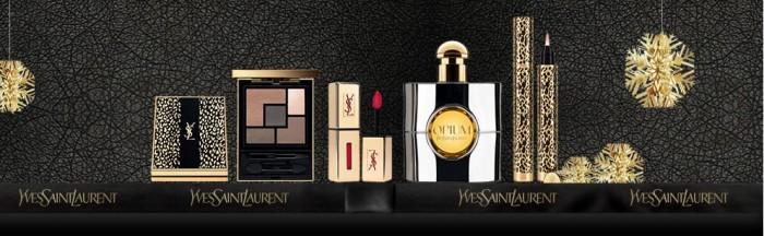 Un maquillage de fête avec la collection Wildly Gold d'Yves Saint-Laurent