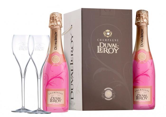 Lady Rose de la Maison Duval-Leroy pour une Saint-Valentin pétillante d'amour