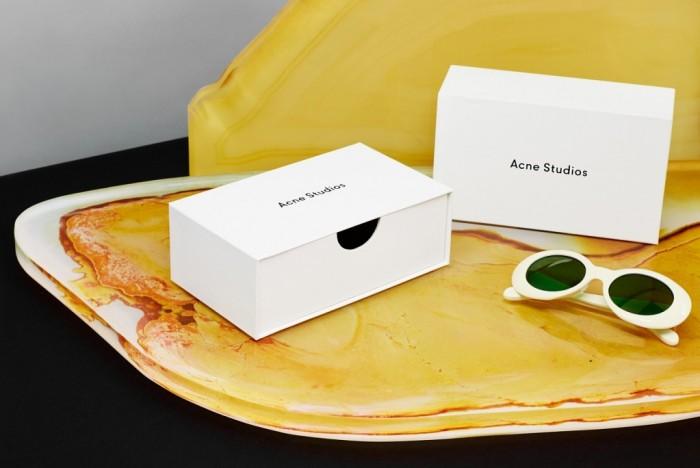 La première collection de lunettes d'Acne Studio