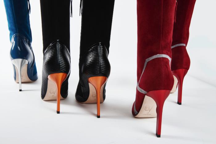 Les élégants souliers de Bettina Vermillon