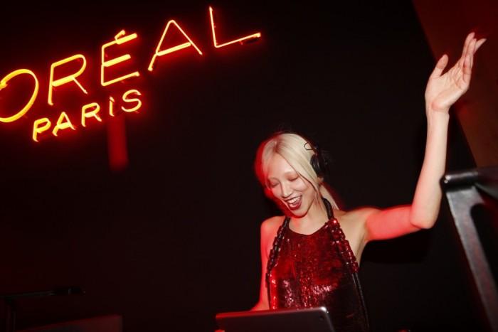 La Red Obsession Party de l'Oréal Paris