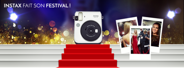 Fujifilm Instax fait son festival avec Gala Croisette