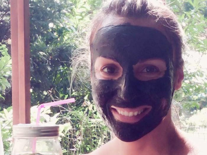 DIY Masque détox au charbon végétal