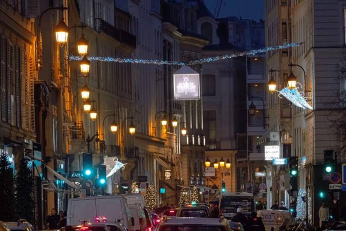Winter Time 2016, les illuminations du Comité du Faubourg Saint-Honoré