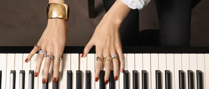 La collection Coco Crush Diamonds de Chanel par Keira Knightley