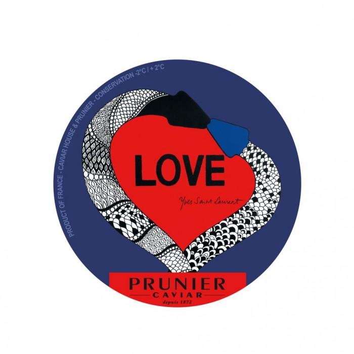 Caviar Prunier LOVE par Yves Saint-Laurent une émotion à partager