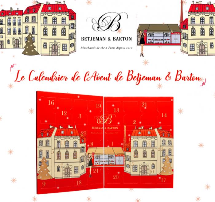 Le calendrier de l'Avent de Betjeman & Barton
