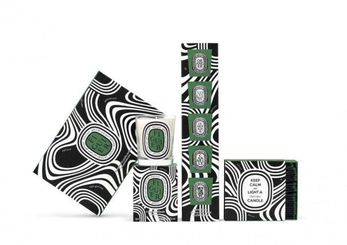 diptyque – Collection exclusive Let's Go Logo au Bon Marché