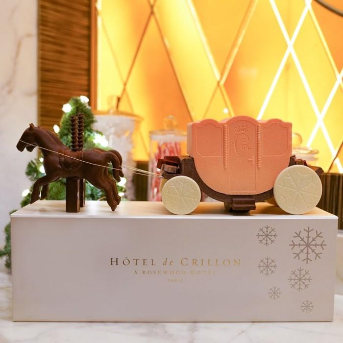 L'Hôtel de Crillon présente Le Carrosse de Noël